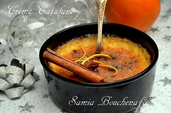 la crème catalane ou crema cremada de San Josep