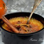 creme catalane aux zeste d'orange