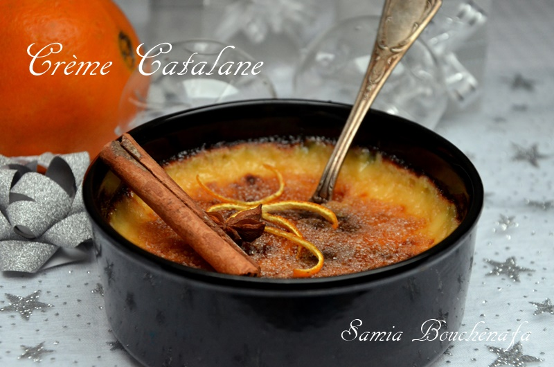 creme catalane aux zeste d'orange