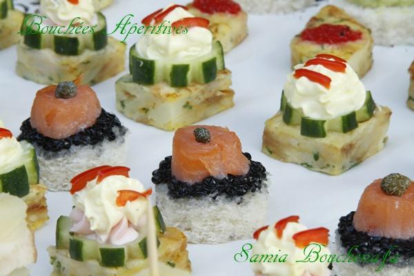 toast apéritifs au saumon
