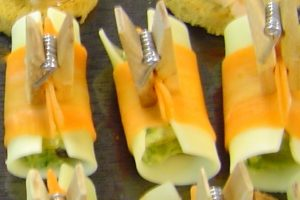 mise en bouche apéritives fromage carotte