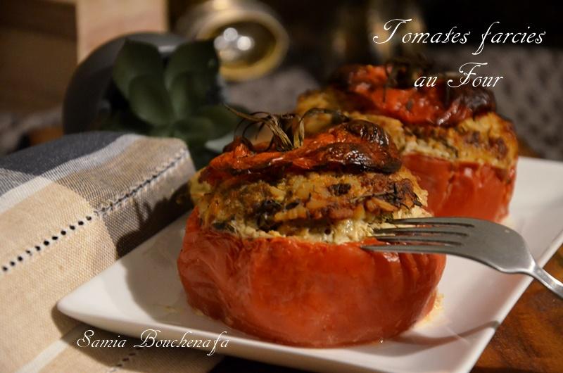 tomates farcies tendre à la viande de ma maman