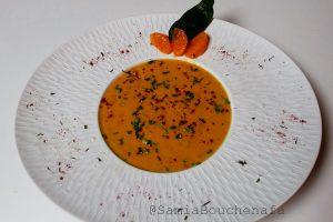velouté de carottes à la marocaine