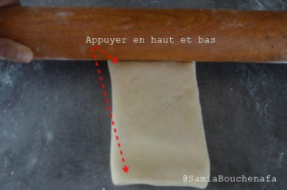 Comment faire une pâte feuilletée classique ou ordinaire-CAP pâtisserie