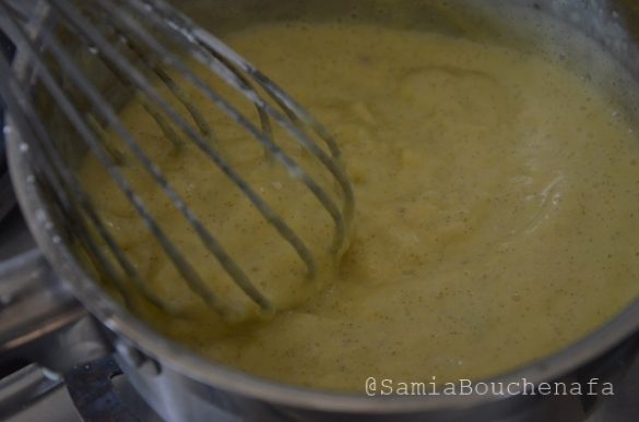 Comment faire une crème pâtissière-CAP Pâtisserie