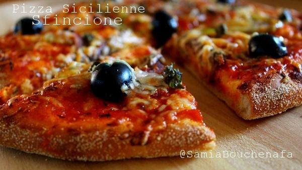 sfincione pizza sicilienne