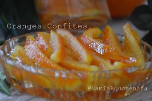oranges confites la méthode