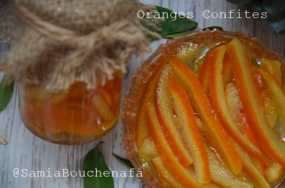 comment faire des oranges confites rapides