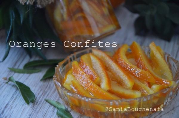 orangess confites rapides inratable