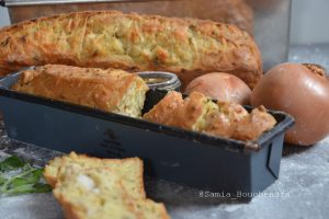 cake poulet fromage coriandre