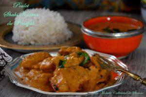curry poulet shahi korma pendjab
