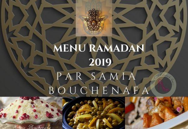menu ramadan 2019