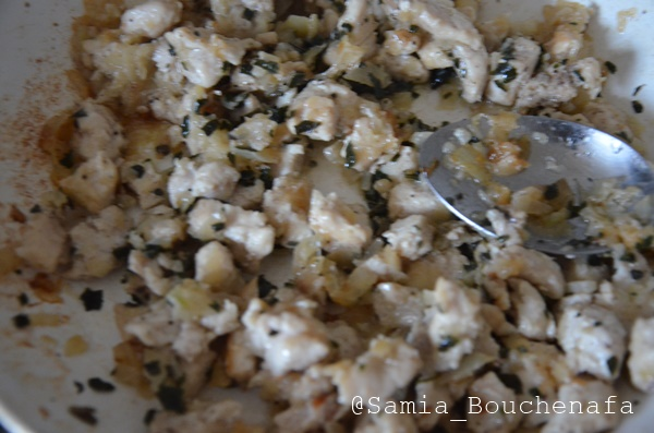 cake poulet fromage herbes aromatiques