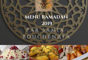 menus complet du ramadan