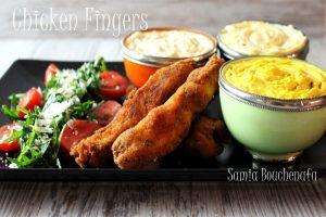 chicken fingers du KFC