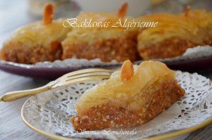 vraie recette baklava algérienne samia bouchenafa samiratv