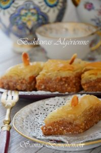 baklava algerienne facile ramadan samiratv samia bouchenafa