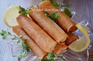 cigares au thon fromage ramadan recipe