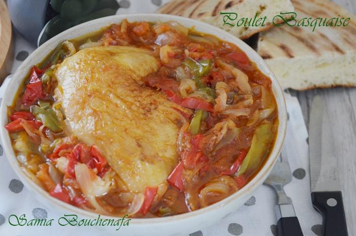 veritable poulet basquaise recette