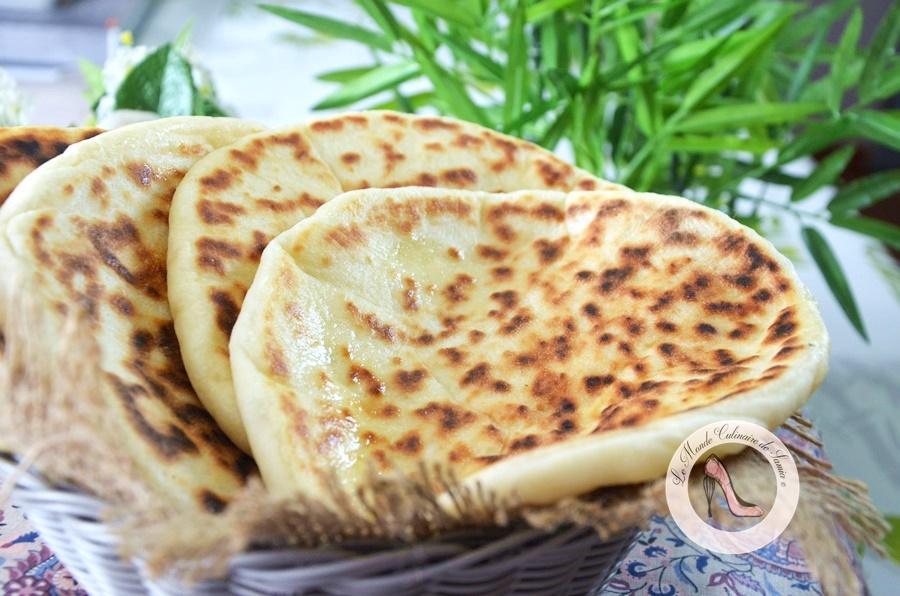 cheese-naan-indien a la poele