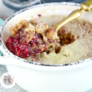 crumble inratable fruits rouges