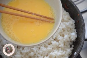 oeufs pour riz cantonais