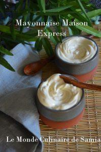 mayonnaise maison express inratable