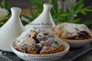 gâteaux moelleux coco fruits sans beurre samia bouchenafa