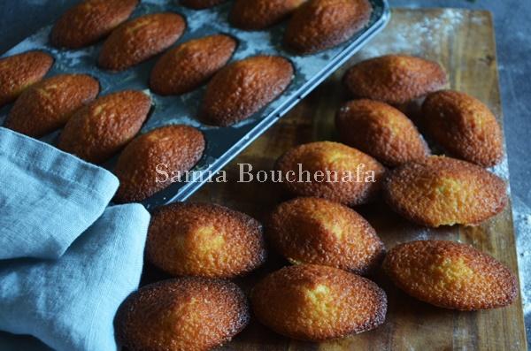 madeleines véritables conticini recette