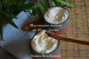 mayonnaise maison recette ultra rapide