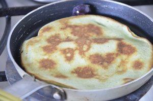 pan cake pistache coco