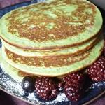 pancake pistache coco