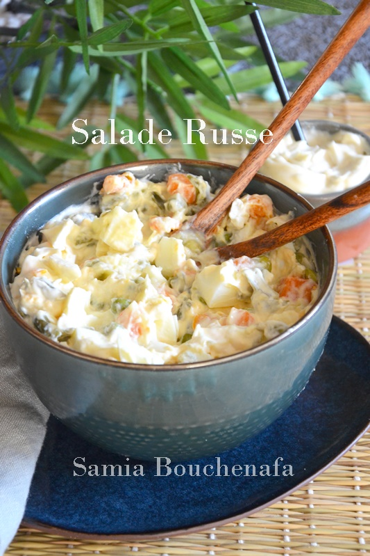 salade russe- ensaladilla rusa