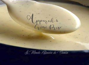 appareil-crème-prise-sucrée-vanille