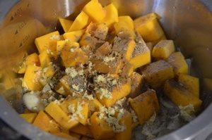 légumes pour velouté de butternut