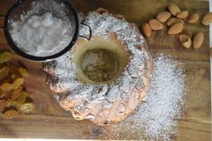 saupoudrer de sucre glace