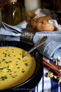 butternut velouté soupe crémeuse