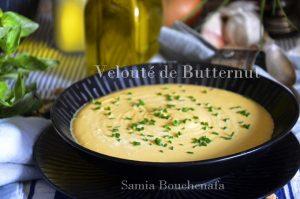 soupe veloutée au butternut