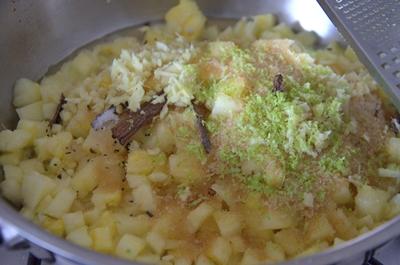 poelée-ananas