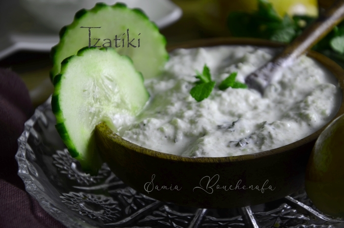 tzatziki a la grecque
