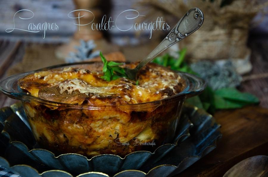 lasagnes -poulet-courgettes-basilics