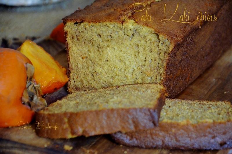 cake-kaki-épices