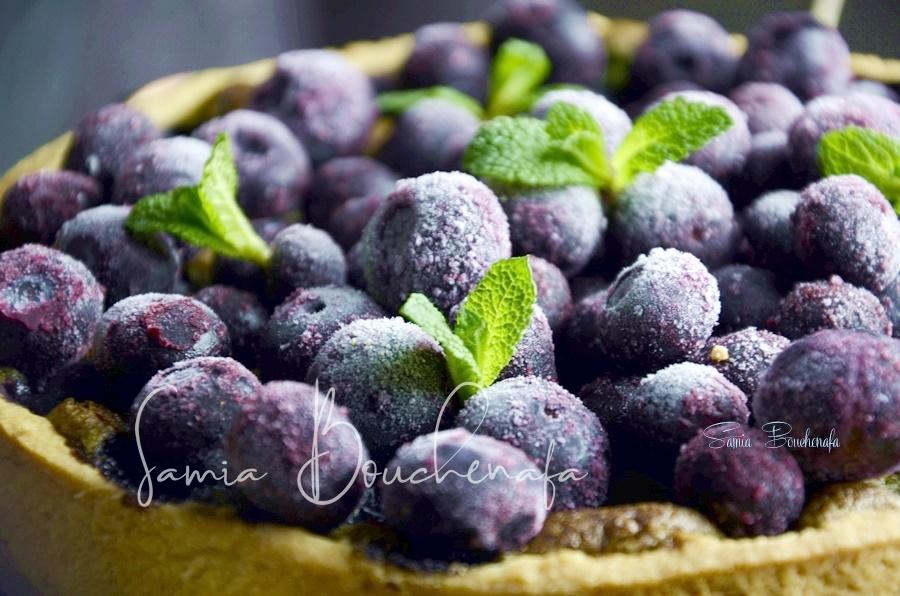 tarte myrtilles bleuets