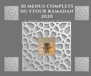 menus du ftour 2020 du ramadan 30 menus