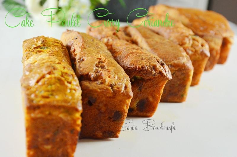 cake-poulet-curry-curcuma-coriandre