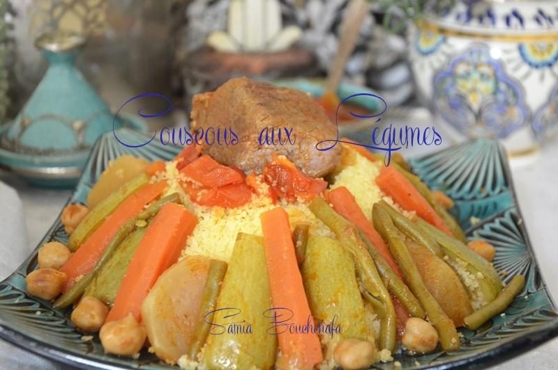 couscous algérien aux légumes recette ramadan