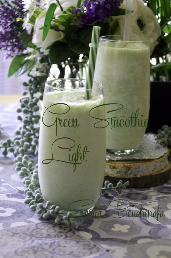 green smoothie aux fruits et legumes