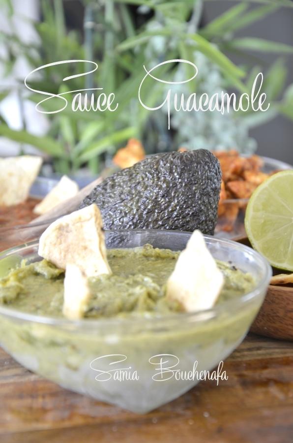 sauce guacamole mexicaine