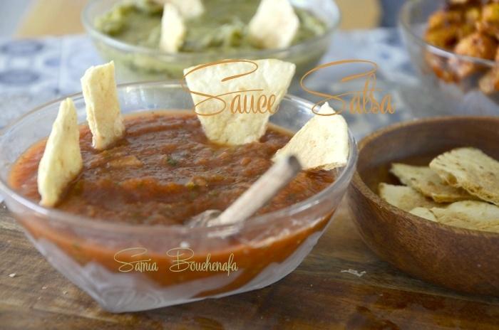 sauce salsa a la mexicaine
