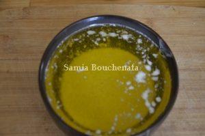 beurre plus huile pour tronya
